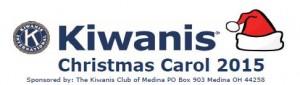 Christmas banner cor caroling